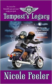 Tempest's Legacy (Jane True Series #3) by Nicole Peeler: Book Cover