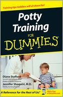 Potty Training For Dummies by Diane Stafford: NOOK Book Cover