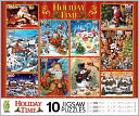 Holiday Time 10 In 1 Puzzle by Ceaco: Product Image