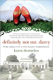 Definitely Not Mr. Darcy by Karen Doornebos: Book Cover