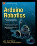 Arduino Robotics by John-David Warren: Book Cover