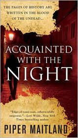 Acquainted With the Night by Piper Maitland: Book Cover