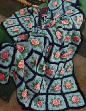 Afghans by Columbia Minerva | Volume 742 | Free Vintage Crochet