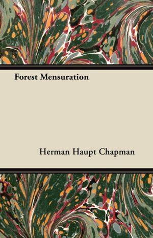 Forest Mensuration cover