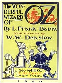 The Wonderful Wizard of Oz (Illustrated) by L. Frank Baum: NOOK Book Cover