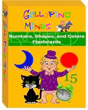 Galloping Minds Numbers, Shapes, and Colors Flashcards by Galloping Minds: Item Cover