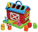 Shape Sorting Barn by Infantino: Product Image