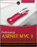 Professional ASP.NET MVC 3 by Jon Galloway: NOOK Book Cover
