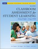 Classroom Assessment for Student Learning by Jan Chappuis: Book Cover