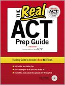 The Real ACT Prep Guide by ACT Inc.: Book Cover
