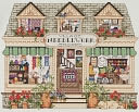 "Needlework Shoppe Counted Cross Stitch Kit-14""X11"" 14 Count by Janlynn: Product Image"
