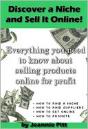 Discover a Niche and Sell It Online by Jeannie Pitt: NOOK Book Cover