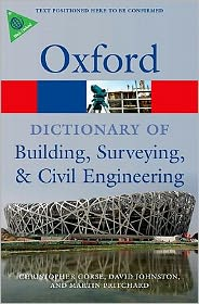 A Dictionary of Building, Surveying, and Civil Engineering