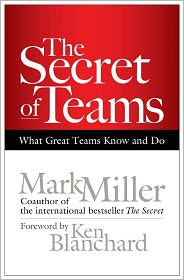 The Secret of Teams: What Great Teams Know and Do by Mark Miller: Book Cover