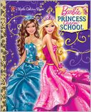Princess Charm School Little Golden Book (Barbie) by Mary Man-Kong: NOOK Book Cover