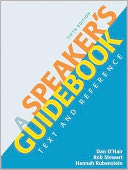 A Speaker's Guidebook by Dan O'Hair: Book Cover