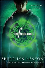 Infamous: Chronicles of Nick by Sherrilyn Kenyon: Book Cover