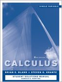 download Calculus : Single Variable, Student Study and Solutions Companion book