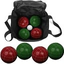 Bocce Ball 9 Piece Set with Easy Carry Nylon Bag by Trademark Games: Product Image
