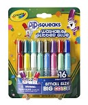 Crayola 16ct Pip-Squeaks Washable Glitter Glue by Crayola: Product Image