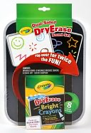 Crayola Dual Sided Dry Erase Board by Crayola: Product Image