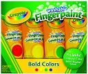 Crayola 4 Count Washable Fingerpaint Primary Colors by Crayola: Product Image