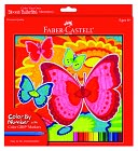Color by Number - Bloomin Butterflies by A.W. Faber-Castell USA: Product Image