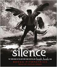 Silence (Hush, Hush Saga #3) by Becca Fitzpatrick: CD Audiobook Cover