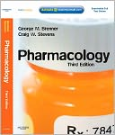 Pharmacology, by George M. Brenner: NOOK Book Cover