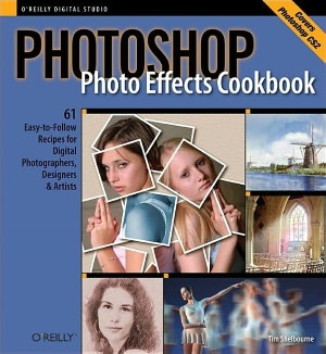 Free downloadable pdf textbooks Photoshop Photo Effects Cookbook iBook in English by Tim Shelbourne, Ilex Press Ltd