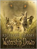 Watership Down by Richard Adams: Audio Book Cover