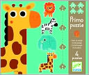 Djeco In the Jungle 4 puzzles by Djeco: Product Image