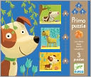 Djeco Dogs 3 Puzzles by Djeco: Product Image