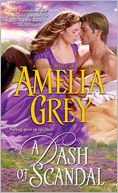 Dash of Scandal by Amelia Grey: NOOK Book Cover
