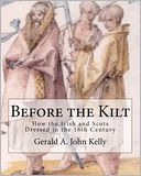 Before the Kilt by Gerald Kelly: Book Cover