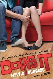 Doing It by Melvin Burgess: Book Cover