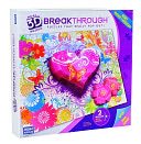 Breakthrough Puzzle Level 2 Hearts & Flowers by Megabrands: Product Image