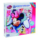 Breakthrough Puzzle Level 2 I Heart Minnie Mouse by Megabrands: Product Image