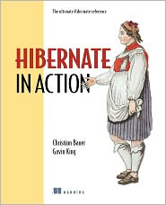 Hibernate in Action by Christian Bauer: Book Cover