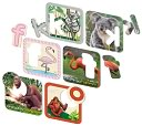 Smart Play Zafari Animal Alphabet Bilingual Puzzle by Smart Play: Product Image