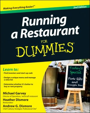 E book download Running a Restaurant For Dummies (English Edition)