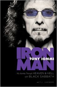 Tony Iommi &quot;Iron Man&quot; book cover