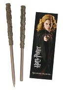 Harry Potter Wand Pen &amp; Bookmark Set - Hermione by The Noble Collection: Product Image
