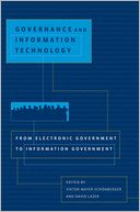 Governance and Information Technology by Viktor Mayer-Schonberger: Book Cover