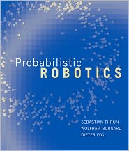 Probabilistic Robotics by Sebastian Thrun: Book Cover