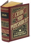 Crime and Punishment (Barnes & Noble Leatherbound Classics) by Fyodor Dostoevsky: Book Cover