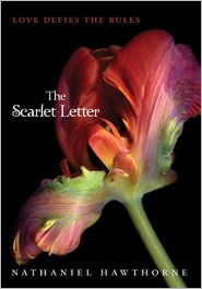 The Scarlet Letter by Nathaniel Hawthorne: Book Cover