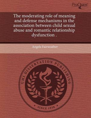 The Moderating Role Of Meaning And Defense Mechanisms In The Association ...
