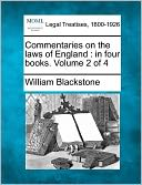 download Commentaries On The Laws Of England book