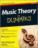 Music Theory For Dummies by Michael Pilhofer: Book Cover